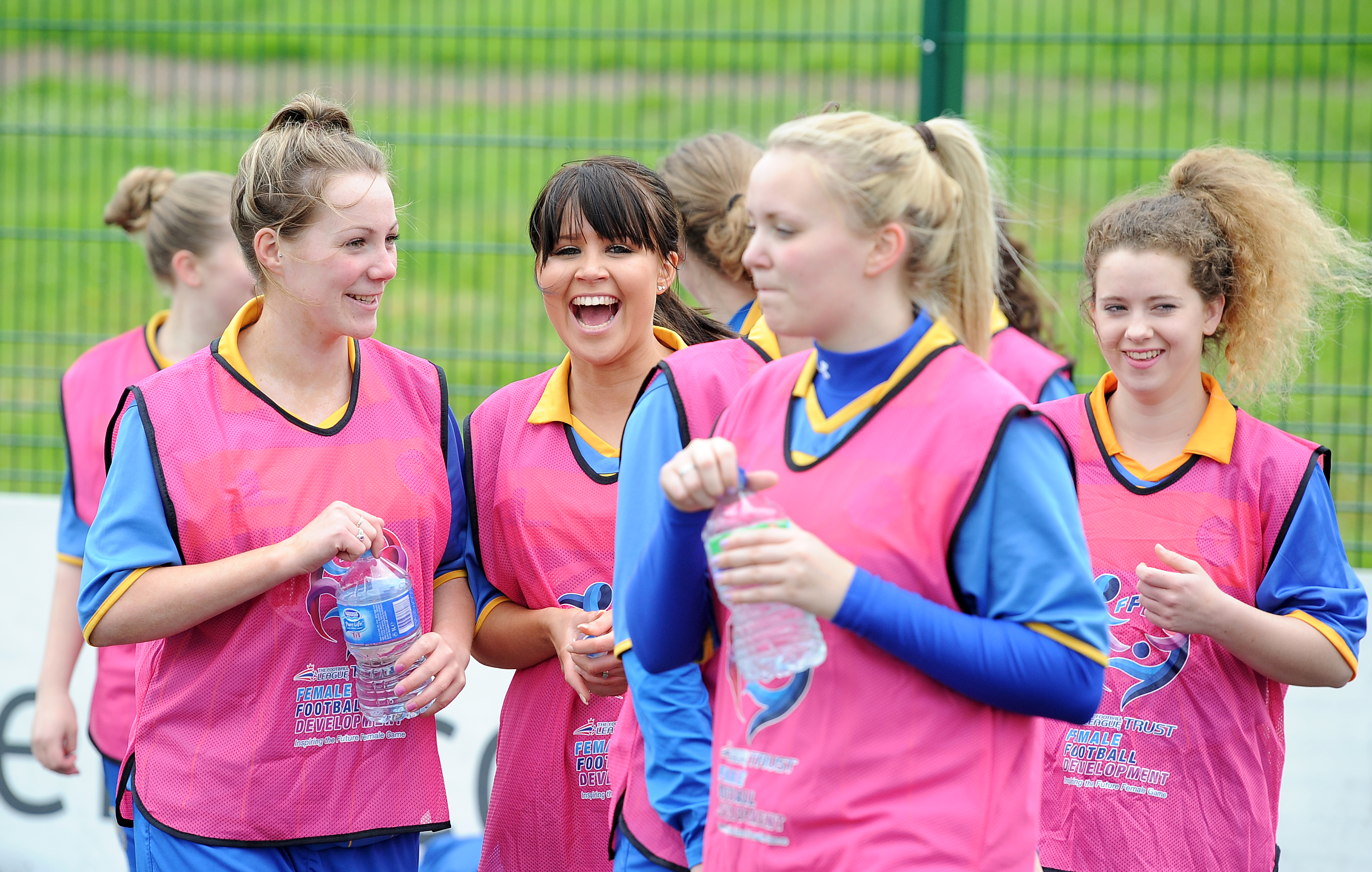 TRUST ROLL OUT FEMALE BACK TO FOOTBALL SESSIONS