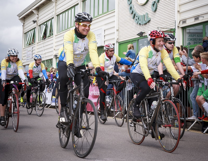 PEDAL FROM PARIS ORGANISERS REVEAL AMAZING AMOUNT RAISED